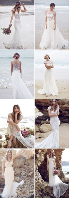 Anna Campbell Wedding Dresses 2016 #wedding #bride #beach #dress