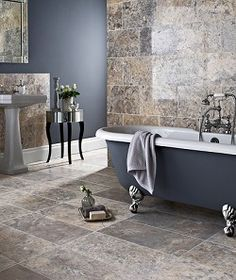 Aurelius Silver Travertine, Toppe Tiles £10.42 per tile