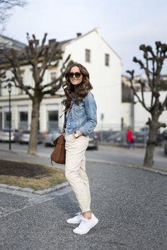 casual look jeans jacket caroline berg eriksen 1