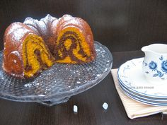 MARBLE CAKE DE CALABAZA Y CHOCOLATE