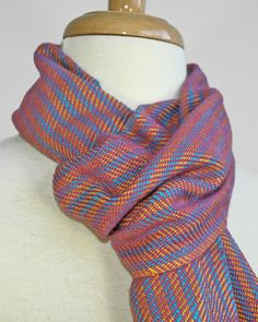 Loomination's classic scarves are handwoven in patterns and colors that will coordinate with your wardrobe staples. Woven in 100% cotton, this scarf is warm, yet breathable, and hypoallergenic. This lightweight scarf is perfect for fall, winter, and spring and can be worn indoors as well as out.