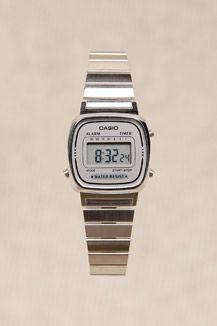 0385a6dbf444 Silver Face Casio Watch  alliwant Casio Digital