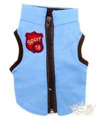 Jaqueta em Tecido - Azul Claro