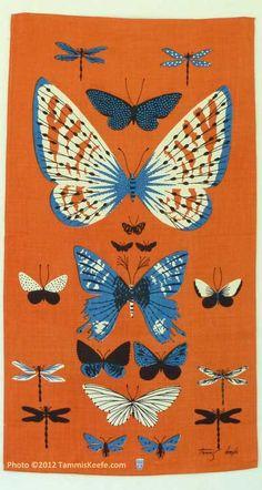 Butterflies, Orange by Tammis Keefe