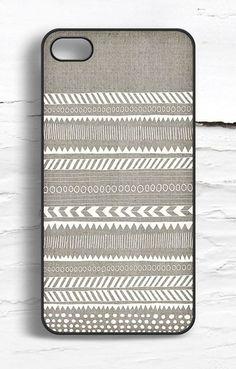 iPhone Linen Tribal Pattern Case