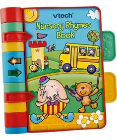 VTech Nursery Rhymes Book.