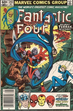 Fantastic Four - #242