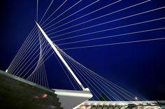 Santiago Calatrava -Three Bridges over Hoofdvaart Haarlemmermeer The Netherlands - 1999-2004