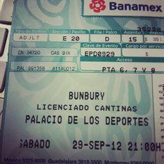 Enrique Bunbury- Palacio de los Deported