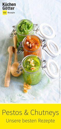 Wir zeigen euch, wie einfach ihr Pestos und Chutneys selber herstellen könnt.