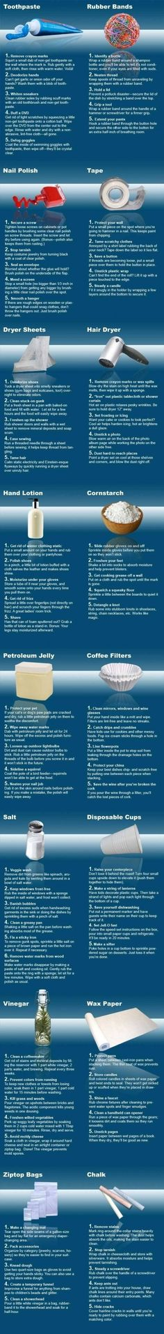 Home remedies! - Click image to find more DIY & Crafts Pinterest pins