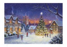 Free Sample Selection Page Christmas Scenes, Christmas Art, Jim Mitchell, Xmas Wallpaper, Seasonal Image, Christmas Topper, Favorite Cartoon Character, Christmas Characters, Old Fashioned Christmas