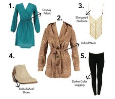 Clothes for Inverted Triangle