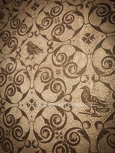 Tiles from Hadrian's Villa, Italy