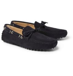 Car ShoeSuede Driving Shoes|MR PORTER