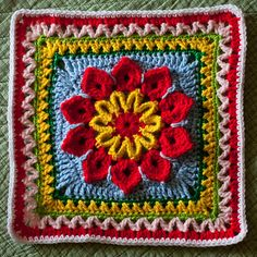 """Ravelry: MossyOwls' """"Be of Good Cheer"""" Samplerghan"""