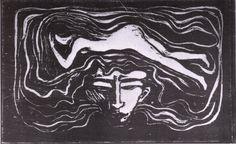 nobrashfestivity:  Edvard Munch, In the brain of man, 1897
