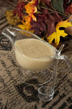 No-Drippings Turkey Gravy | Classic turkey flavored gravy.  Simply sub gluten free flour for regular wheat. Wishes and Dishes