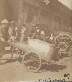 Paddy's Market in Sydney in 1897.