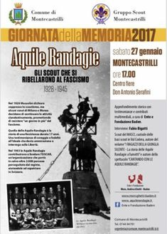 Montecastrilli, Giornata della Memoria: Aquile Randagie, gli scout che si ribellarono al fascismo