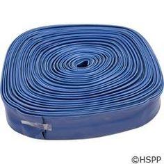 """Hose, Backwash 2"""" x 200` Roll, Blue 89-576-1000"""