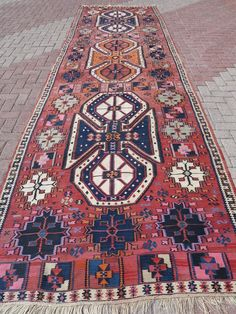 Vintage Turkish Rug Runner Antalya Nomad Kilim Runner Runner by RhythmOfTheRug on Etsy Kilim Runner, Turkish Kilim Rugs, Antalya, Carpet Runner, Paint Colors, Bohemian Rug, Antiques, Etsy, Vintage