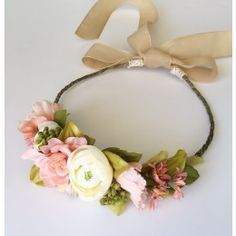 3443702ce Poppy Loves Jade Audra Flower Crown. Available to rent for photos and  special occasions at