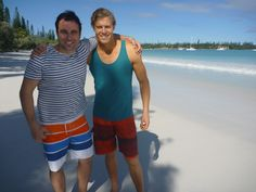 Chris and Miguel at the Isle of Pines: http://tenplay.com.au/channel-ten/the-living-room/photos/chris-and-miguel-cruise