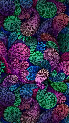 Colorful #psicodelic #background