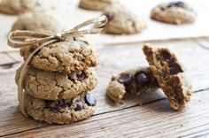 Gluten Free Peanut Butter and Chocolate Chip Cookies