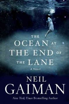 The Ocean at the End of the Lane by Neil Gaiman; This tale reminds us how we're shaped by childhood experiences and how they can haunt us forever. To attend a funeral, a man returns home and is drawn to the place he grew up without knowing why. Once again a frightened 7 year old, he's propelled to experience adventures he can hardly comprehend. summer books, book shelf, audio book, the ocean, book clubs, book reviews, book addict, new books, neil gaiman