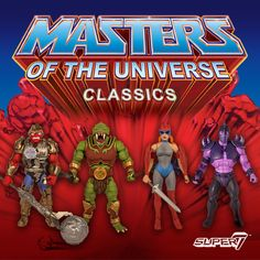Image result for images of all motu classics figures