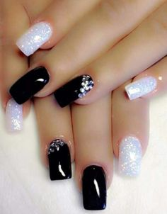 Cele Mai Bune 72 Imagini Din Unghii Cu Gel Negre Pretty Nails