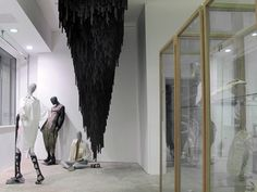 Damir Doma window at Dover Street Market Spring Summer 2012, London visual merchandising