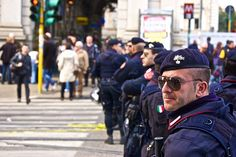 Police in Rome