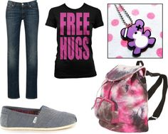 """teen"" by kadiekendrick on Polyvore"