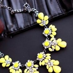Cheap jewelry wholesaler, Buy Quality jewelry qvc directly from China jewelry dividers Suppliers: 2015 New High quality fashion gift gold necklace chain Shourouk Vintage Rhinestone Bib necklaces women statement jewelry Crystal Statement Necklace, Statement Jewelry, Gold Necklace, Pendant Necklace, Necklace Chain, Yellow Necklace, Rhinestone Necklace, Yellow Jewelry, Flower Necklace