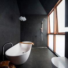 Home / Twitter Tranquil Bathroom, Loft Bathroom, Dream Bathrooms, Amazing Bathrooms, Bathroom Ideas, Bathroom Goals, Bathroom Caulk, Bath Ideas, Bathroom Inspiration