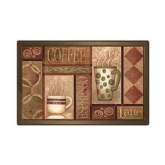 Coffee Kitchen Mat