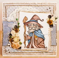 Image Stamp, Copics, Magick, Wonderland, Lisa, Old Things, Card Making, Princess Zelda, Scrapbook