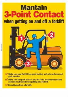 Forklift-3-Point-Contact-poster