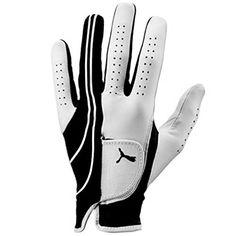 UK Golf Gear - Puma Golf Mens Formation Performance Gloves 2014 Mens LH Black/White Large Mens LH Black/White Large