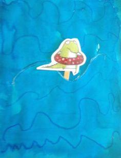 Werkje: De krokodil die niet van water hield School, Books, Projects, Crocodile, Log Projects, Libros, Book, Book Illustrations, Libri