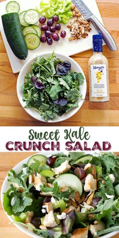 Sweet Kale Crunch Salad