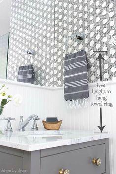 Lovely Tile towel Bar Holder