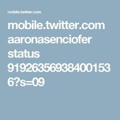 mobile.twitter.com aaronasenciofer status 919263569384001536?s=09