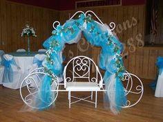 Mis Quince Salon Decorations | Decoracion de Quinceanera - FIESTAIDEAS.com