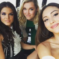 Marie, Eliza, Lindsey | The 100, Comic con 2015