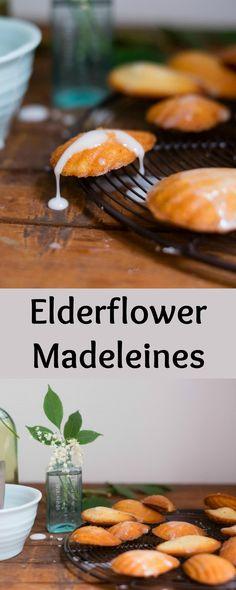 Elderflower Madeleines - Patisserie Makes Perfect