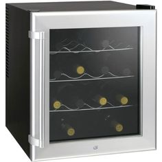 Small Wine Cellars - Culinair Aw160s Thermoelectric 16Bottle Wine Cooler Silver and Black *** Be sure to check out this awesome product.